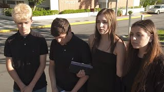From youtube.com: Students remember Marjory Stoneman Douglas High School shooting