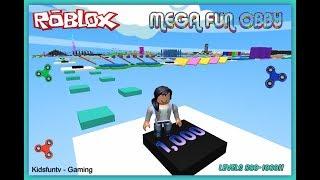 Aventures Roblox! Jouons Mega Fun Obby! FOU OBBY!!! | Niveaux 800-1000
