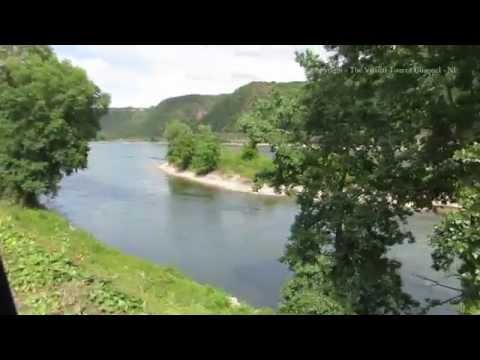 Walk to Sank Goar from Oberwesel along the Rhine Gorge in Germany 1
