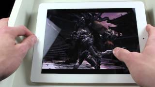 Gaming (Infinity Blade 2) On The New iPad 3rd Generation