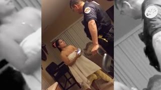 Naked Woman Handcuffed In Her Own House