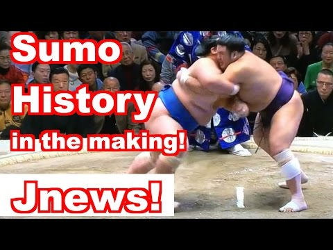 Can 琴奨菊 break the Gaijin Sumo Winning Streak? JNEWS!