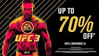 EA SPORTS UFC 3 |Black Friday Sale