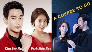 "Video Kim Soo Hyun and Park Shin Hye ""A Coffee To Go"" download MP3, 3GP, MP4, WEBM, AVI, FLV Maret 2018"