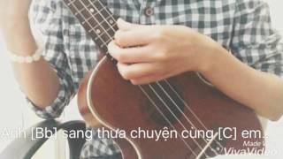 Gửi anh xa nhớ [Bích Phương] Ukulele cover by Cẩm Phú