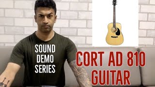 Cort AD810 Acoustic Guitar - Sound Demo (NO talking, ONLY Playing)