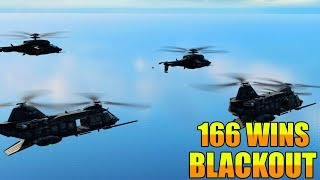 166 Wins // Blackout // Call of duty // Black Ops 4 // PC Gameplay //