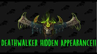 How to easily get Deathwalker HIDDEN ARTIFACT WEAPON SKIN - Havoc Demon Hunter