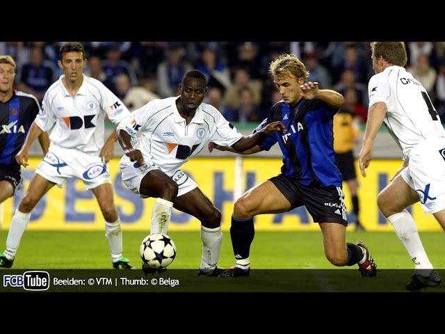 2003-2004 - Jupiler Pro League - 05. Club Brugge - AA Gent 1-1