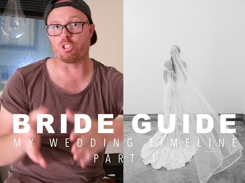 BRIDE GUIDE: MY WEDDING TIMELINE PART 1: Plan your hair, makeup and portraits