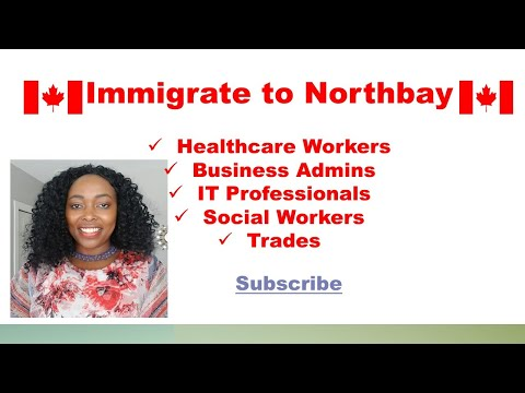 Immigrate To North Bay,  Ontario Canada - Rural Northern Immigration Pilot