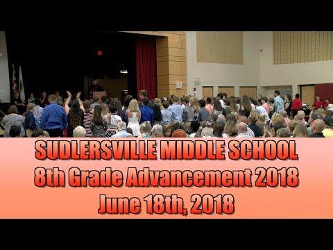 Sudlersville Middle School 8th Grade Advancement 2018 vid