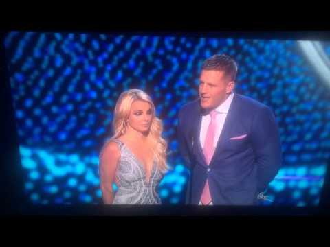 Britney Spears at the 2015 ESPYS!