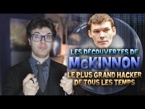 BULLE : Les Découvertes de McKinnon - Le Plus Grand Hacker de Tous Les Temps