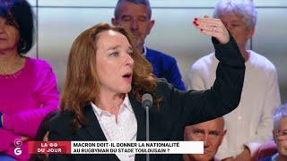 Emmanuel Macron doit-il donner la nationalité au rugbyman du Stade Toulousain ?