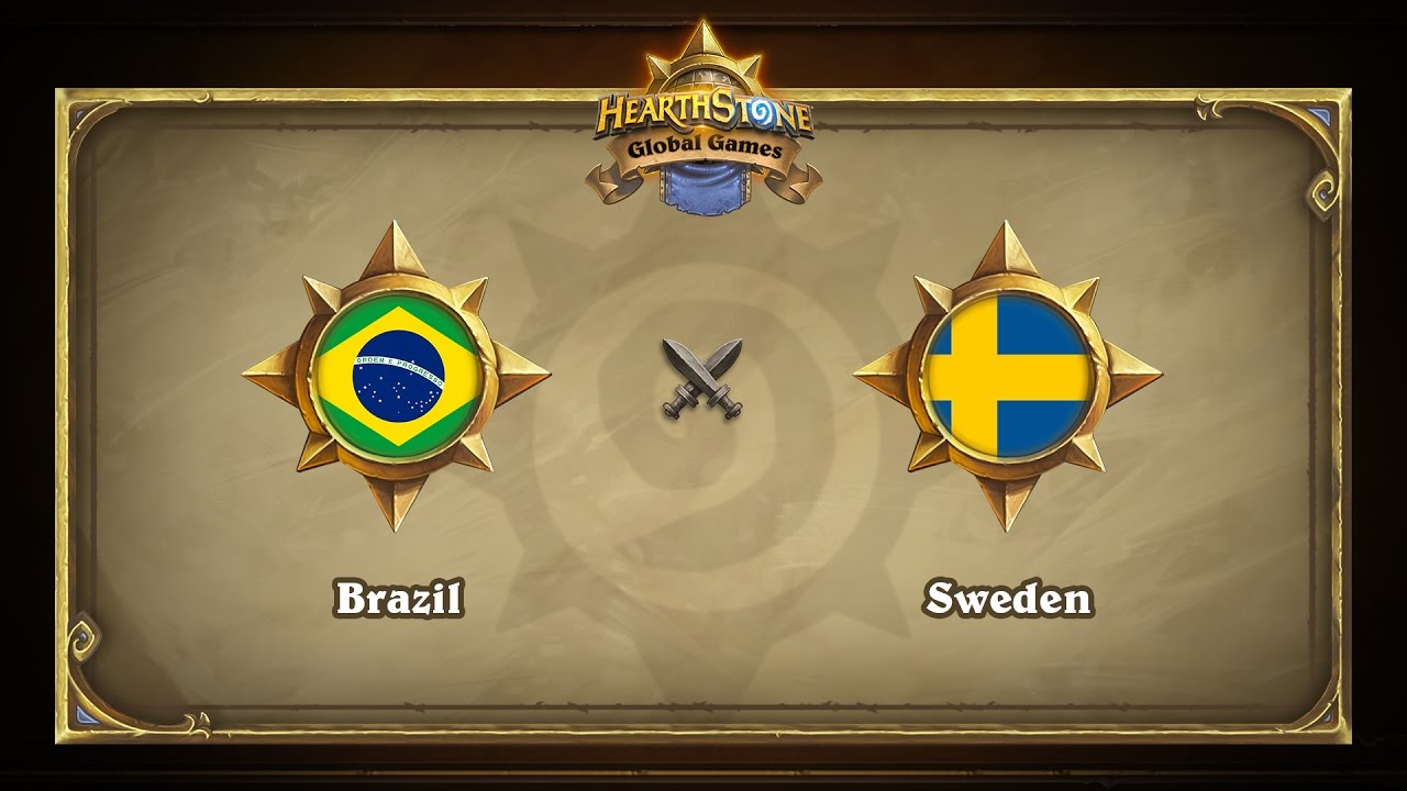 Бразилия vs Швеция | Brazil vs Sweden | Hearthstone Global Games (17.05.2017)