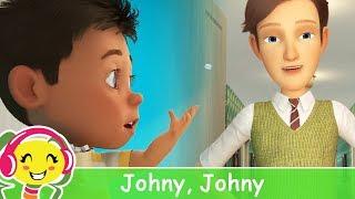 Johny Johny Yes Papa in romana si engleza - Cantece pentru copii thumbnail