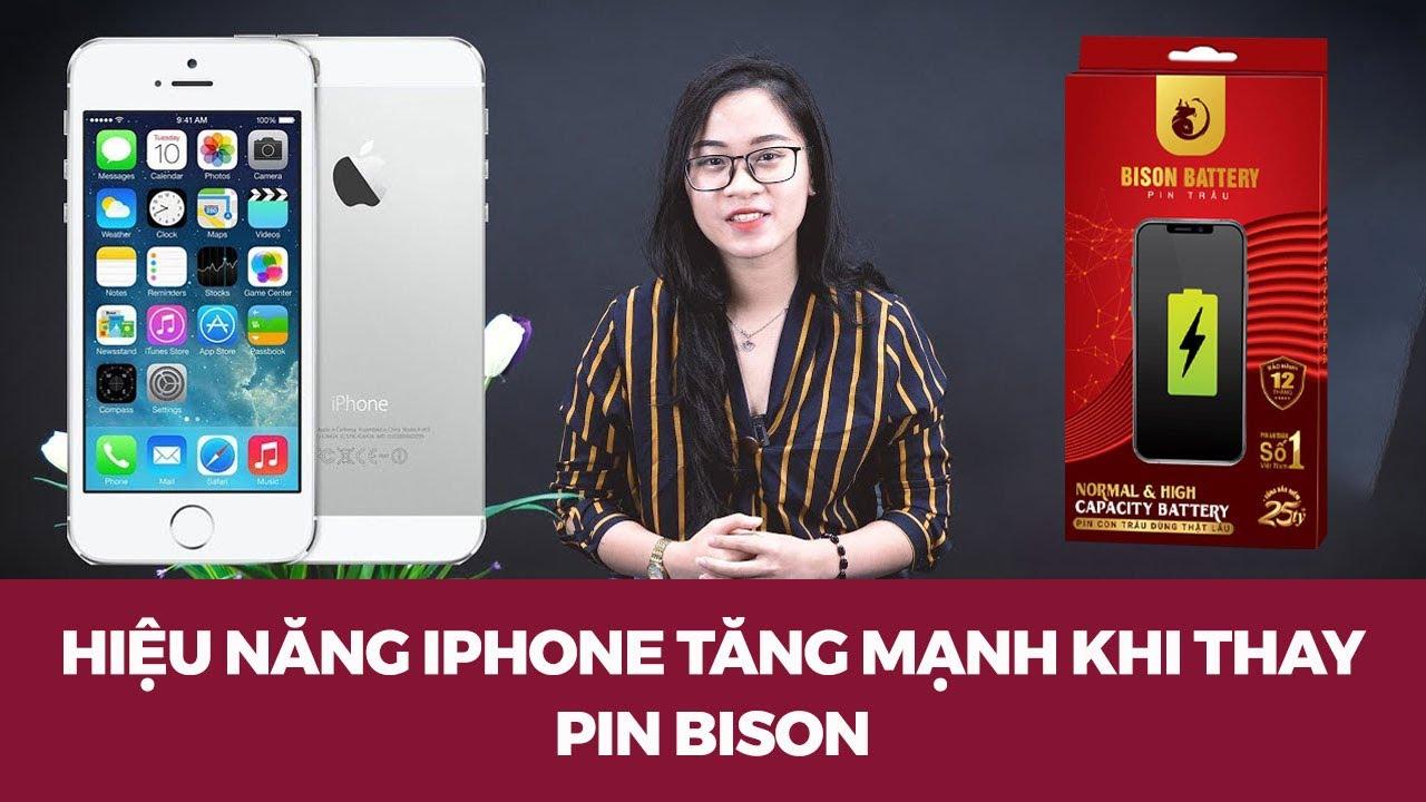 Test hiệu năng iPhone 5S sau khi thay Pin Con Trâu |iPhone cũ còn quá TỐT|