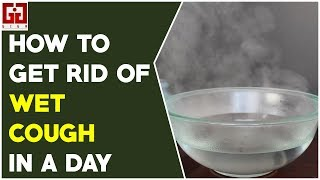 How To Get Rid Of Wet Cough In A Day || Natural Home Remedies || English Health Tips || Giga Health
