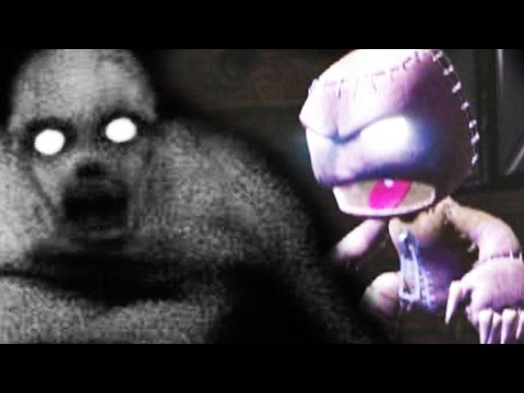 LittleBigPlanet 3 - THE RAKE CREEPYPASTA - (Little Big Planet 3)
