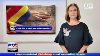O zi de post și rugăciune pentru România | Știre Alfa Omega | Mapamond creștin 845
