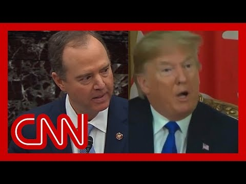 Adam Schiff uses Trump's words against him at impeachment trial