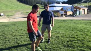 CrossFit - Challenging Dan and Rich: Backflips and Handstand Walks
