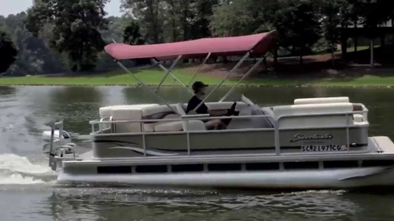 PWR-ARM II Automatic Powered Pontoon Bimini Tops