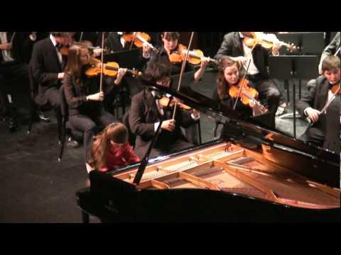 Napa Valley Youth Symphony plays Piano Concerto No. 8 in C ...