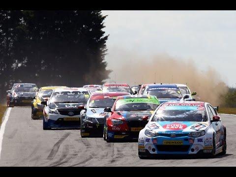 2014 Dunlop MSA British Touring Car Championship - highlights from Snetterton