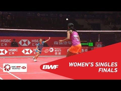 F | WS | PUSARLA V. Sindhu (IND) vs Nozomi OKUHARA (JPN) | BWF 2018