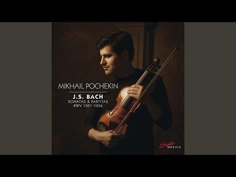 Violin Sonata No. 1 in G Minor, BWV 1001: III. Siciliana