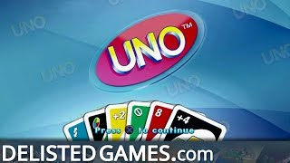 UNO on PlayStation 3 Gameplay Trailer (Delisted Games)