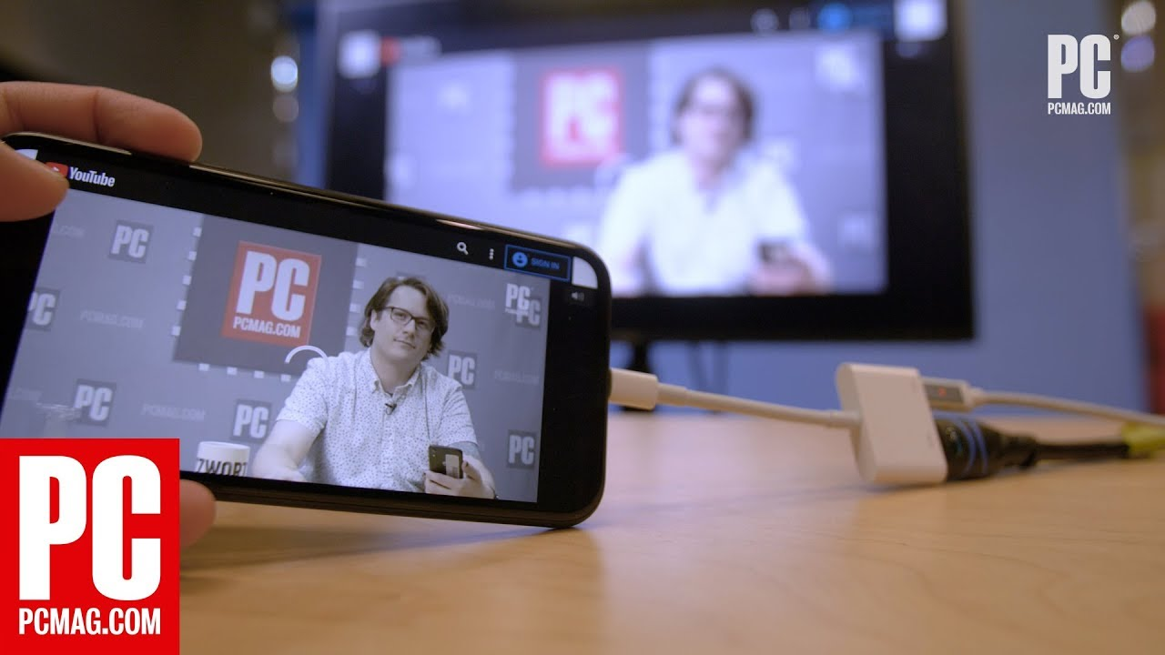 How To Connect Your Iphone Or Ipad To Your Tv Youtube
