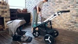 Baby Design Husky - зимняя коляска для новорожденных  (коллекция 2016)