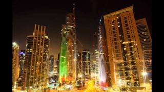 Almas Tower - Time Lapse Video - UAE National Day 2011