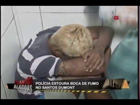 DENÚNCIA ANÔNIMA LEVA POLÍCIA A BOCA DE FUMO NO BAIRRO SANTOS DUMONT