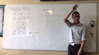 Differentiating Exponential Functions: e