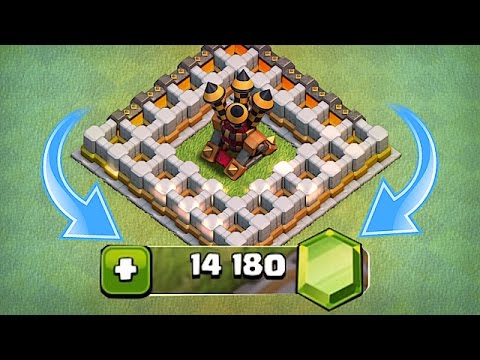 NEW UPDATE LVL 9 AIR DEFEN$E🔸100$ GEM SPREE🔸Clash Of Clans