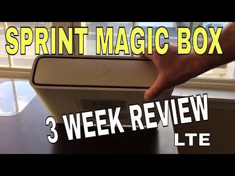 SPRINT MAGIC BOX !! 3 Week Review!!