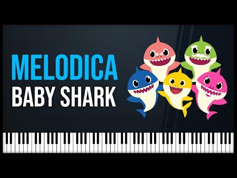 Notas Para Melodica Como Tocar Baby Shark Pinkfong Melodica