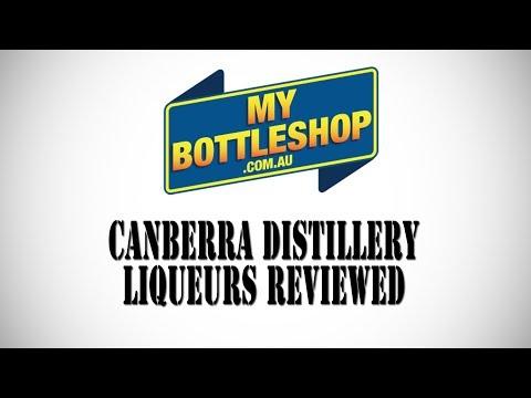Canberra Distillery Liqueurs Review