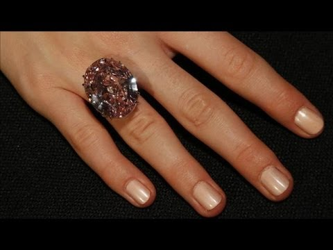 World's Most Expensive Diamond Goes to Auction