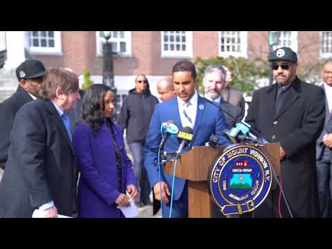 Mayor Richard Thomas Press Conference in connections with alleged corruption charges