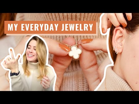 My Everyday Jewelry Collection | Where to Buy Delicate and Minimalist Jewelry | Lucie Fink