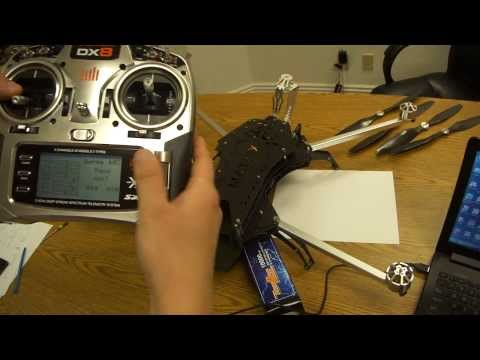 How to Bind & setup the Failsafe on Turbo Ace Matrix Quadcopter with Spektrum DX8