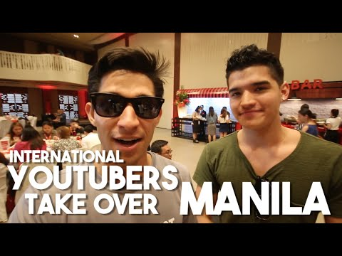 Alex Wassabi & Youtubers Take Over Manila (ft. Lloyd Cadena, Janina Vela, Christian Leblanc)