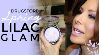 Drugstore Spring Lilac Glam GRWM | Dominique Sachse