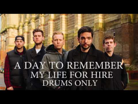 A Day To Remember My Life For Hire Drums Only