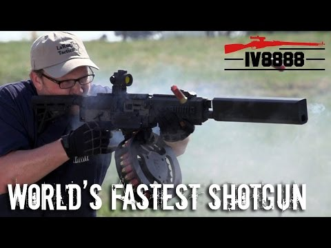 World's Fastest Shotgun: Fostech Origin 12
